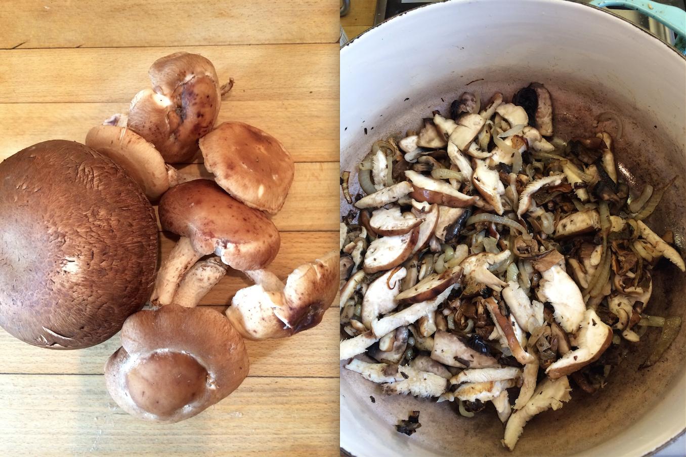 Mushroom Seitan Stroganoff Recipe — Dishmaps