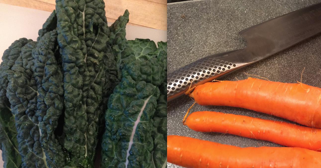 Kale:Carrot