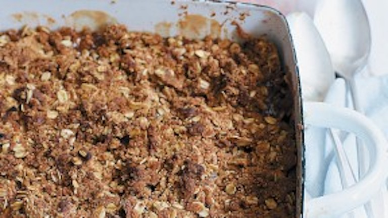 Crispy Crunchy Apple Crumble