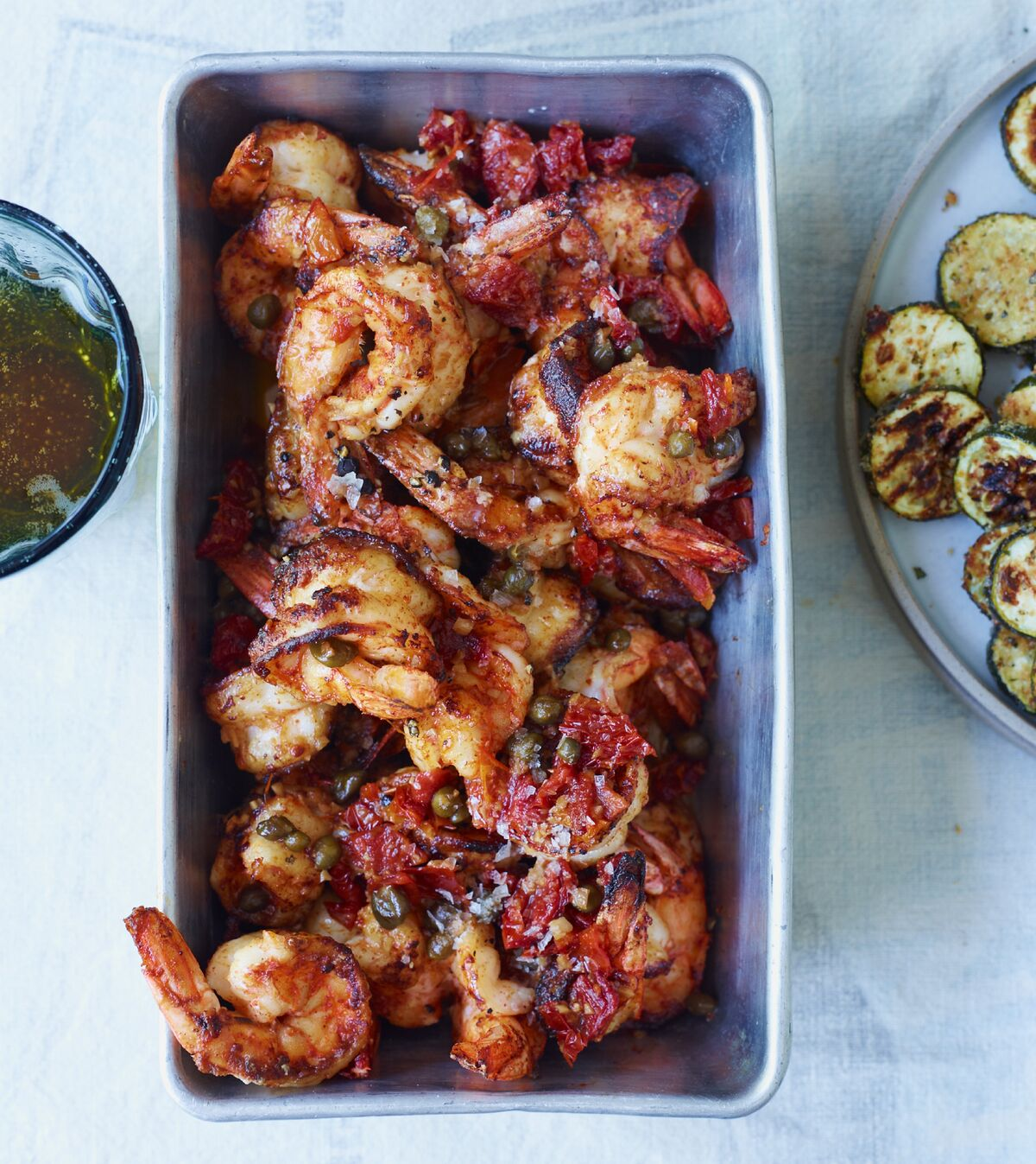 Paprika-Seared Shrimp